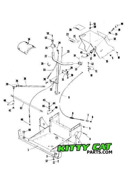 kitty cat arctic parts diagram