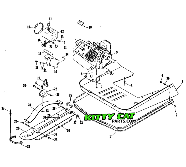 [FPWZ_2684]  KittyCatParts.com - Your source for Arctic Cat Kitty Cat parts and  information | Arctic Cat Engine Diagrams |  | KittyCatParts.com - Your source for Arctic Cat Kitty Cat parts and  information